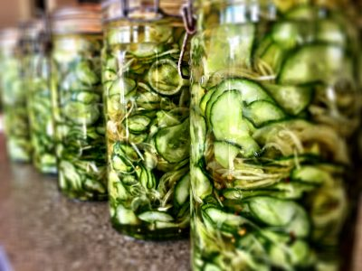 Fully Pickled. A fresh take on cucumber pickles